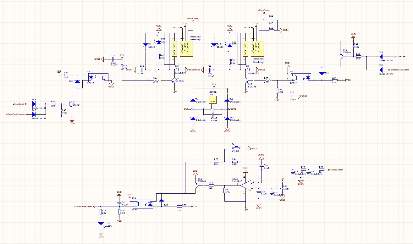 درایور موتور DC با محافظت جریان