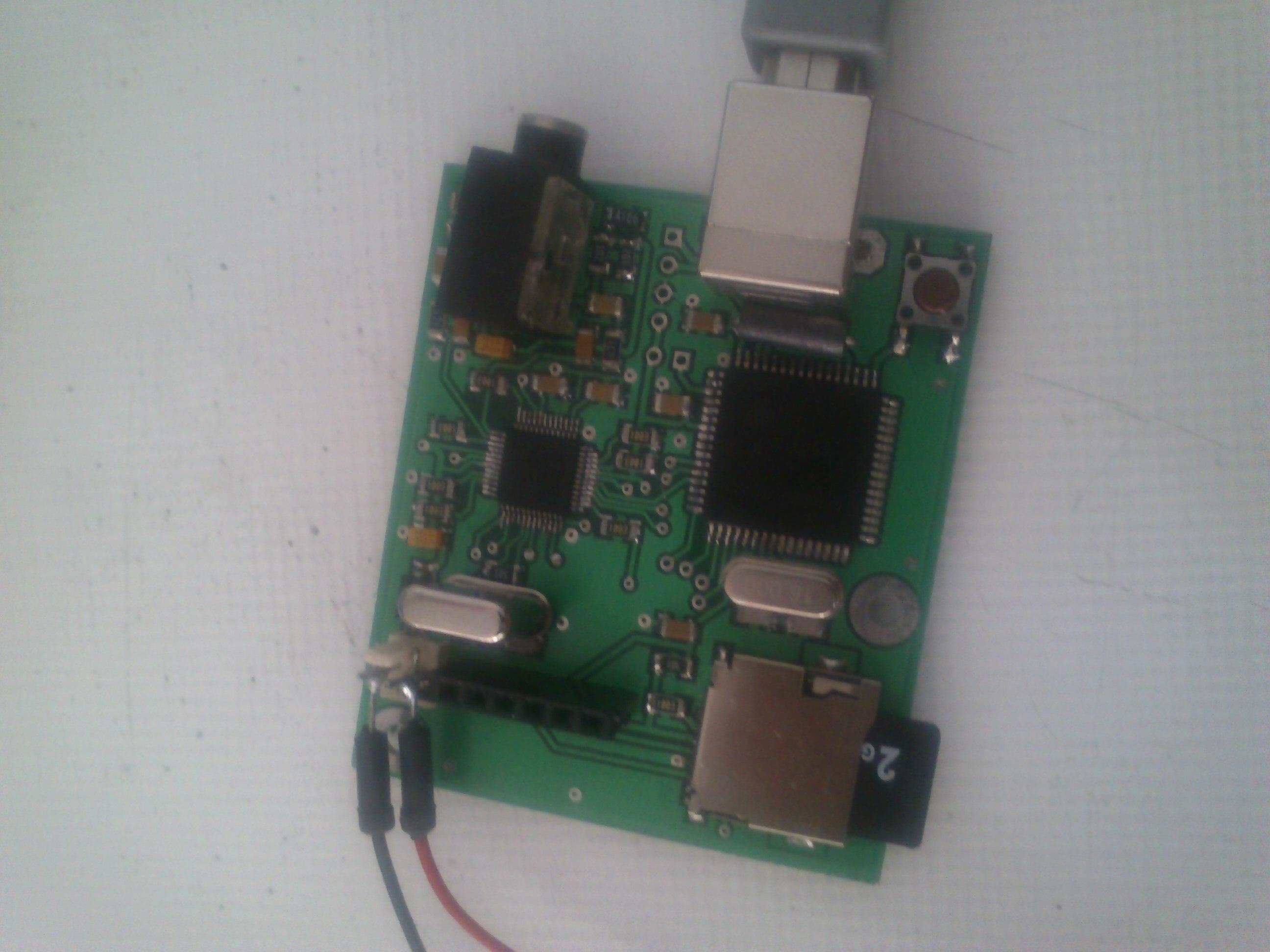 کیت ضبط و پخش صدا با کیفیت  16kbps با استفاده از ماژول vs1003